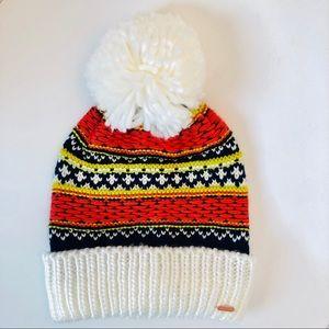 Free People Winter Hat w/ Pom
